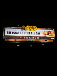 Cracker Barrel Static Billboard tall