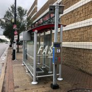 Solar Powered Bus Shelters with SmartLink Remote Device Management System by OutdoorLink