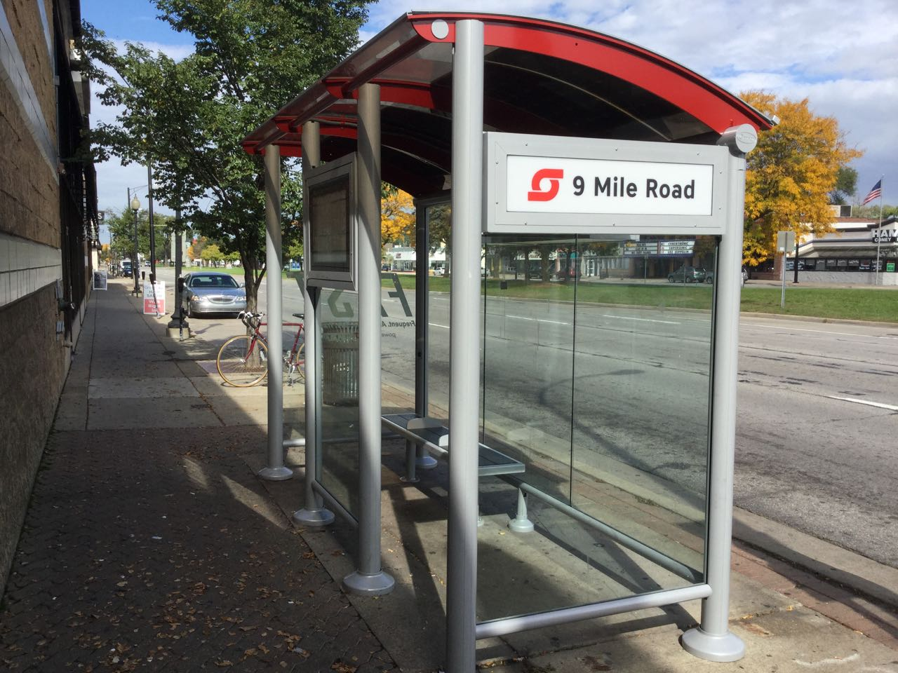 SMART Bus's Solar Powered Bus Stop Shelters with SmartLink Remote Device Management System by OutdoorLink