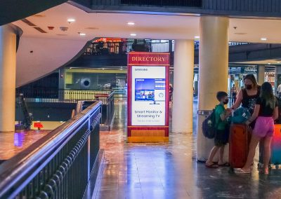 SmartLink Vantage Remote Device Monitoring and Control by Outdoorlink at Union Station DC with Samsung Digital Kiosks Consumer Group and